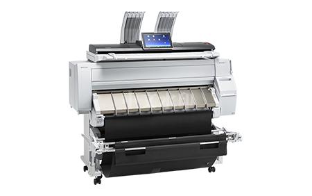 工程机复印机
